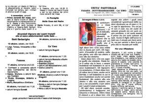Read more about the article foglietto del 17/10
